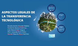 Copy of ASPECTO LEGALES DE LA TRANSFERENCIA