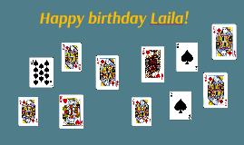 Happy birthday Laila!