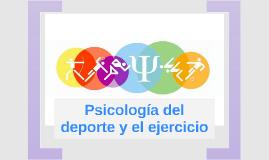 Psicología del deporte y el ejercicio