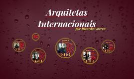Arquitetas Internacionais 2.0