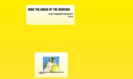 Hera the Queen of the Gods