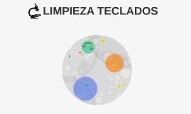 LIMPIEZA TECLADOS