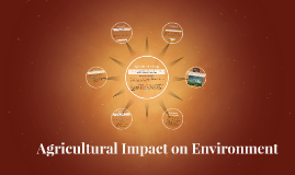 Agricultural Impact on Environment