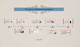 Timeline of Recent Inventions