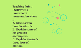 Teaching Point: