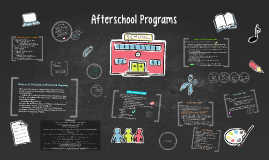 Copy of Afterschool Programs