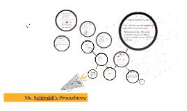 Ms. Schiraldi's Procedures: