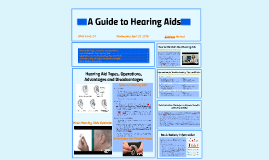 A Guide to Hearing Aids