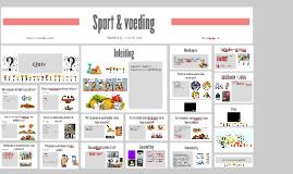 Copy of Sport & voeding