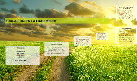 Copy of EDUCACION EN LA EDAD MEDIA