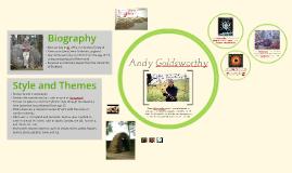 Copy of Andy Goldsworthy