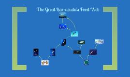 Great Barracuda Food Web