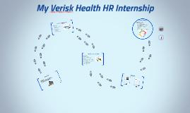 My Verisk Health Internship Journey