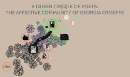 A QUEER CIR(Q)LE OF POETS: THE AFFECTIVE COMMUNITY OF GEORGI