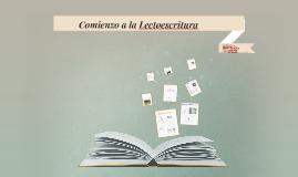 Copy of Comienzo  la lectoescritura