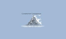 consumerism consequences