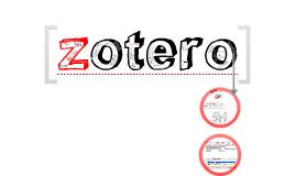 "Taller básico ""Zotero"""