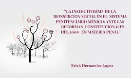 """""""LA INEFECTIVIDAD  DE LA REINSERCION S"""