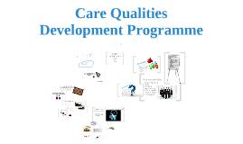Copy of Care Quality Development Programme & Risk