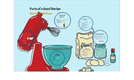 Parts of a Recipe