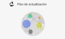 Plan de actualización