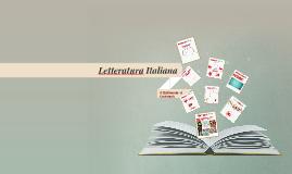 Letteratura - Il Quattrocento e il Cinquecento