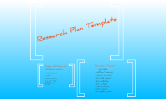 Copy of Research Plan Template