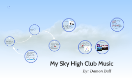 My Sky High Club music site