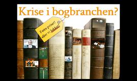 Krise i bogbranchen?