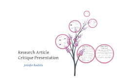 Research Article Critique Presentation