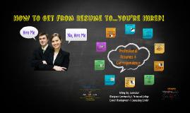 Copy of Resume Building Workshop