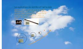Copy of Les applications des lentilles et l`œil humain
