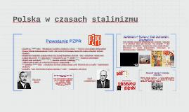 Copy of Polska w czasach stalinizmu