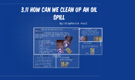 Copy of 3.11 How can we clean up an oil spill