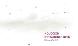 INDUCCIÓN CONTADORES