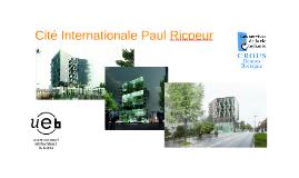 Copy of Cité Internationale Paul Ricoeur