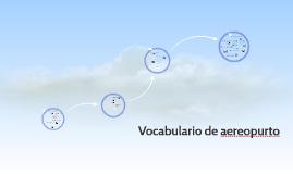 Vocabulario de aereopurto