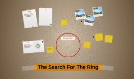 The Search For The Ring