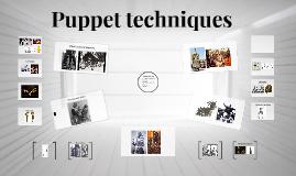 Puppet techniques