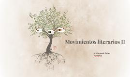 Movimientos literarios II