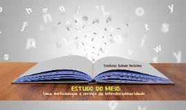 INTERAGIR - Estudo do Meio: uma metodologia a serviço da interdisciplinaridade