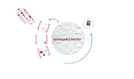 RENAISSANCE POETRY. The Sonnet Michael Spiller