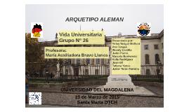 ARQUETIPO DE UNIVERSIDAD ALEMAN