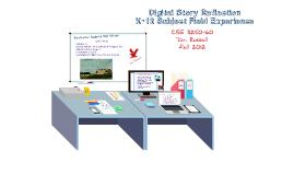 Digital Story Reflection