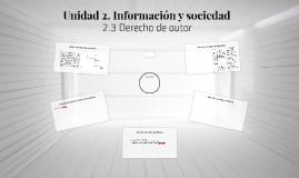 Unidad 2. Información y sociedad