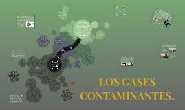 LOS GASES CONTAMINANTES
