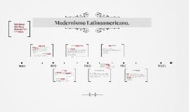 Modernismo Latinoamericano.