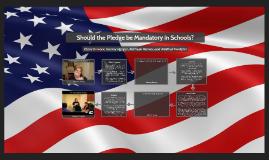 Should the Pledge be Mandatory in Schools?