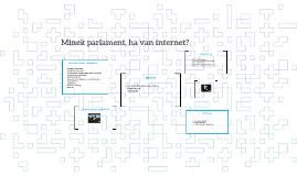 Minek parlament, ha van internet?