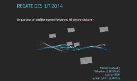 REGATE DES IUT 2014